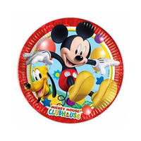 Disney Plates Mickey Party 20CM 10 Pieces