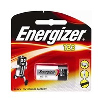 Energizer CR123 Liyhium Battery 3 Volt Single