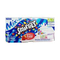 Nestle Smarties Strawberry 120gx4