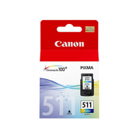 Canon Cartridge CL 511 Color For MP260