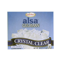 Lady's Choice Alsa Crystal Clear Unflavored Gulaman 90g