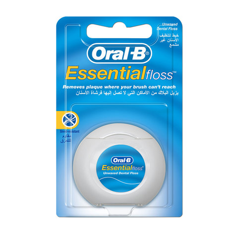 Oral-B-Essential-Floss-Unwaxed-50m