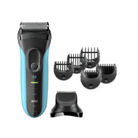 Braun Series 3 3010BT 3-in-1 Cordless Wet & Dry Shaver
