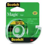 Magic Tape With Plastic Dispenser,1
