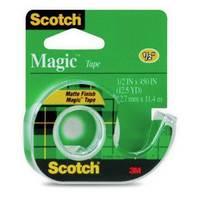 Magic Tape With Plastic Dispenser,1