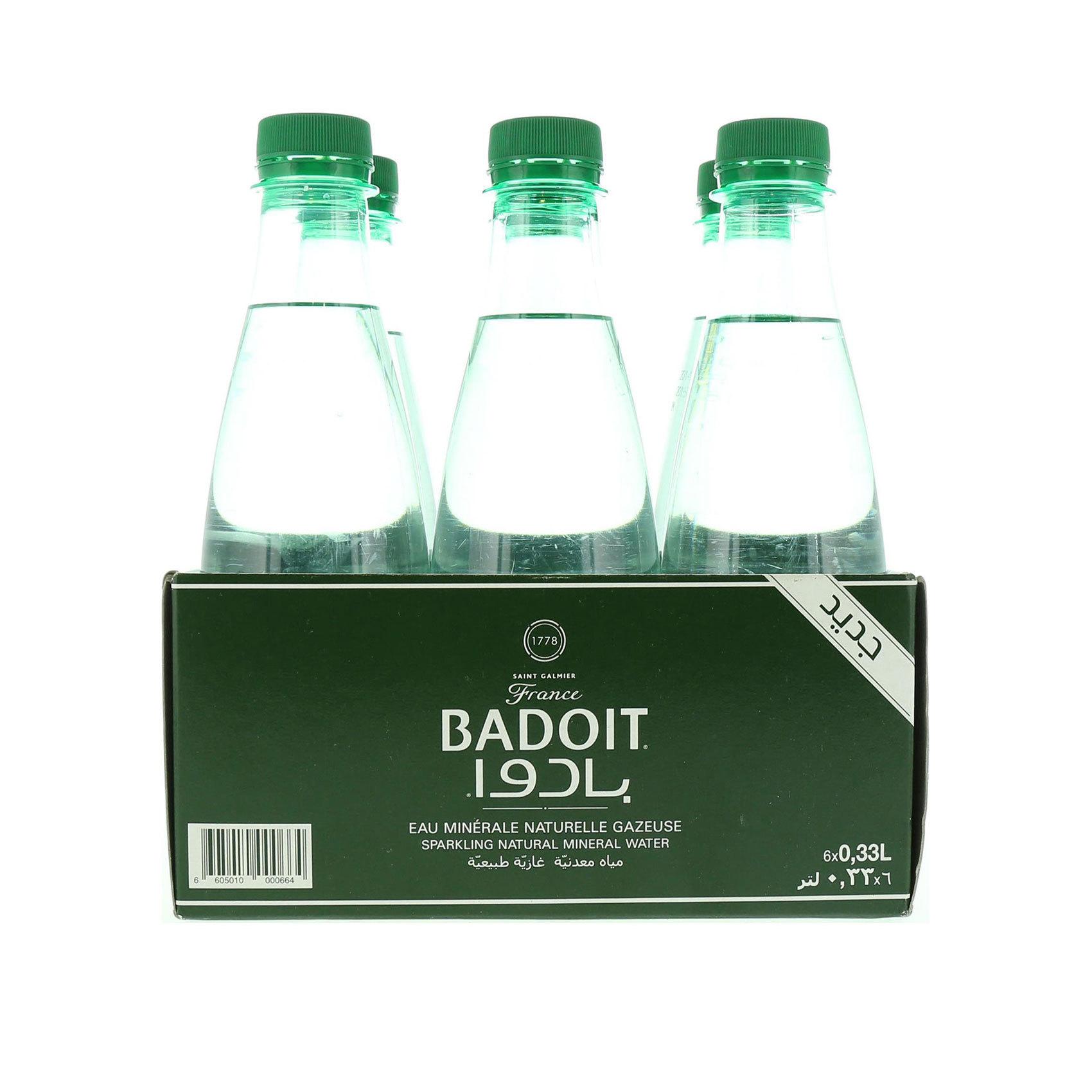 BADOIT SPARKLING WATER PET 330MLX6