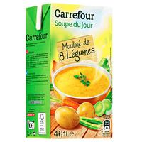 Carrefour Soup Of The Day With 8 Vegetables 1L