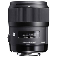 Sigma Lens 35MM F/1.4 DG HSM ART For Canon