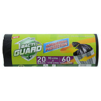 Bacti Guard Antibacterial Protection Garbage Rolls-60 Gallons