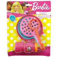 Barbie - Bubble Wand & Pan