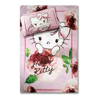 Hello Kitty Duvet Cover Set with Pillow Case