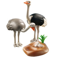 Playmobil Ostriches with Nest