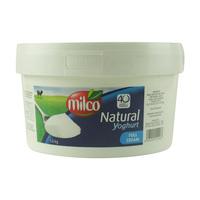 Milco Natural Yoghurt Full Cream 1.8Kg