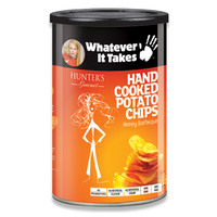 Hunter's Gourmet Hand Cooked Potato Chips Honey Barbeque 150g