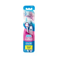 Oral-B Ultrathin Toothbrush Extra Soft 18mm 1+1 Free
