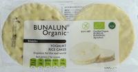 Bunalun Organic Yoghurt Rice Cakes 100g