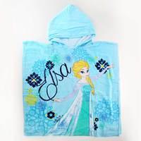 Disney Kids Poncho - Elsa 60x120
