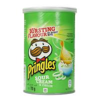 Pringles Sour Cream & Onion Chips 70g