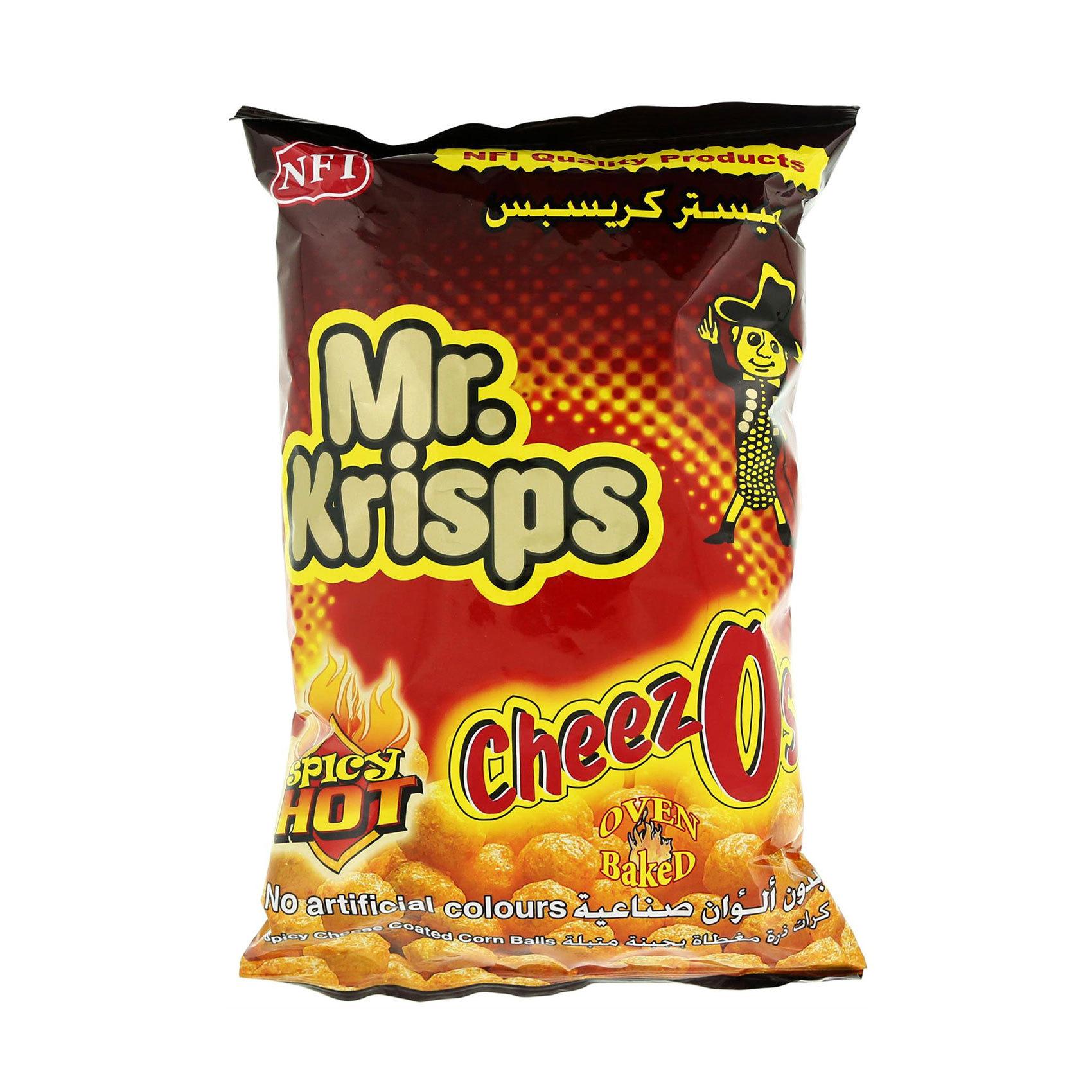MR. KRISPS CHEEZOS (SPICY HOT)