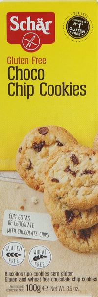 Schar Gluten Free Choco Chip Cookies 100 g