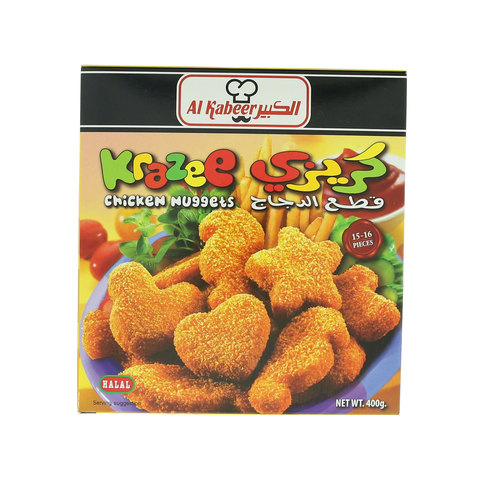 Al-Kabeer-Krazee-Chicken-Nuggets-400g