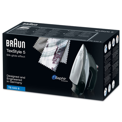 BRAUN STEAM IRON TS545