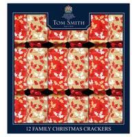 "Tom Smith  12X12"" Contemporaryfoliage Family Crackers"