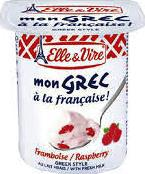 Elle & Vire Dessert Raspberry 125g