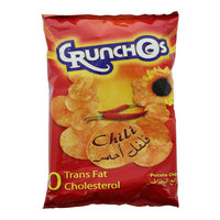Crunchos Potato Chips Chili Flavour 150g