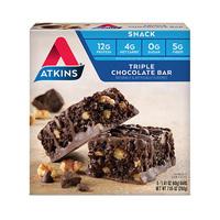 Atkins Snack Tripple Chocolate Bar 40GR (Single Pc)