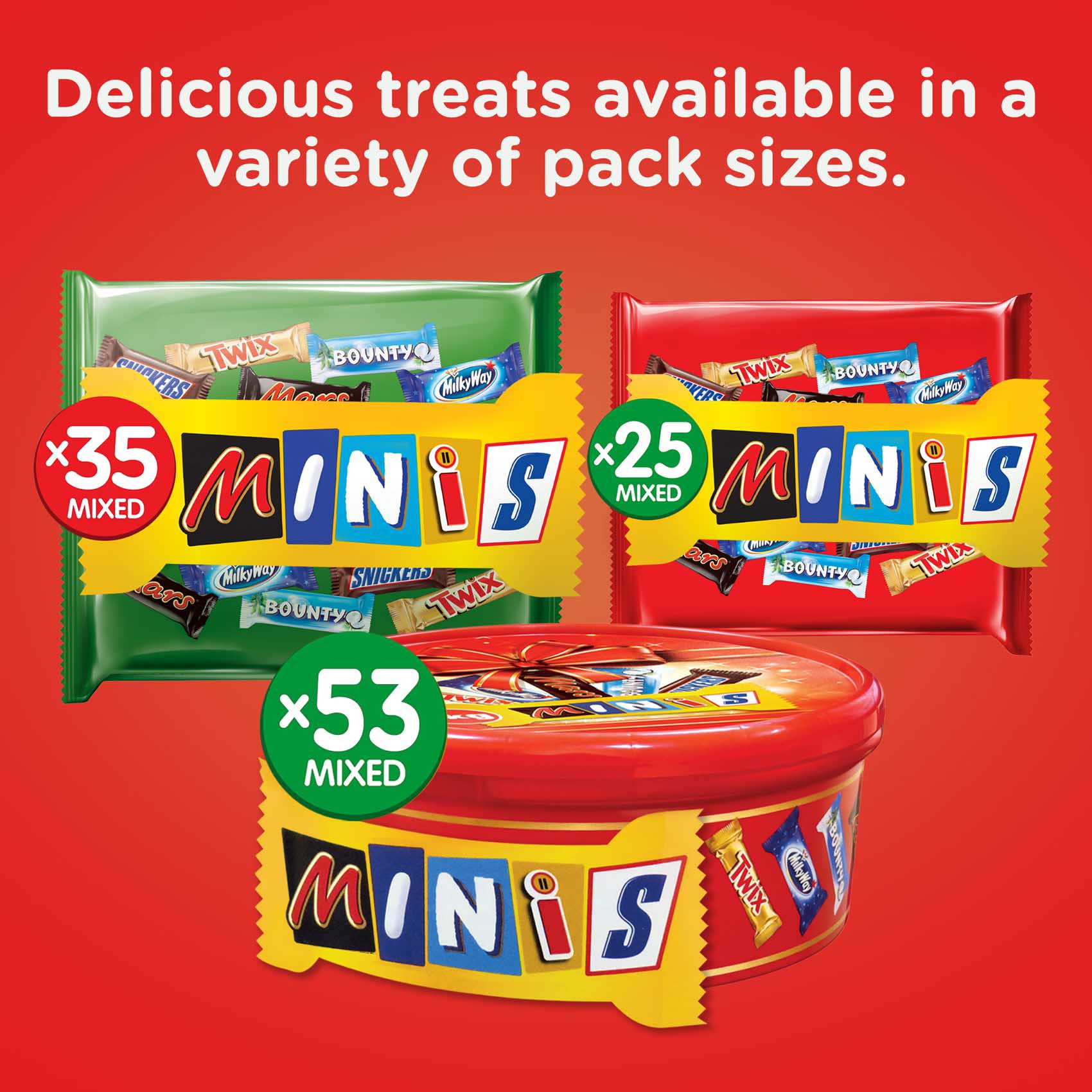 BEST OF MINIS ASSORTED BARS 500GR