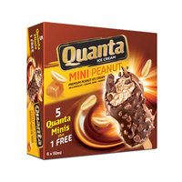 Quanta Ministicks Mini Peanut Ice Cream 50mlx6