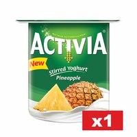 Activia Yoghurt 120 g Pineapple Full Fat