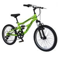 """Spartan 20"""" Mach2.0 Boys MTB Bicycle Green"""