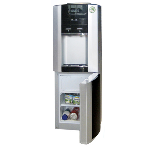 Sure-Top-loading-Water-Dispenser-With-Refrigerator-&-Freezer-G10