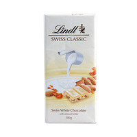 Lindt Swiss Classic White Chocolate With Almond Nougat 100GR
