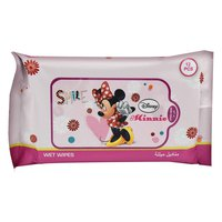 Disney Minnie Mouse Wet Wipes 85g