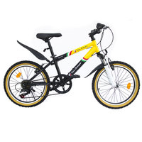 "Spartan Lamborghini 20"" Bicycle Yellow-Blue"