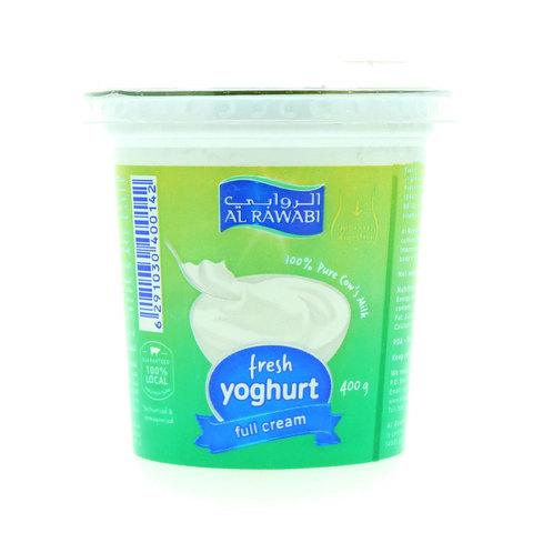 Al-Rawabi-Fresh-Yoghurt-Full-Cream-400g