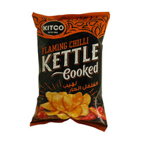 Kitco Flaming Chilli Kettle Cooked Potato Chips 40g