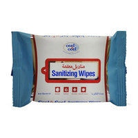 Cool & Cool Sanitizing 15 Wipes