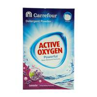 Carrefour Detergent Powder Top Load Lavender 1.5kg