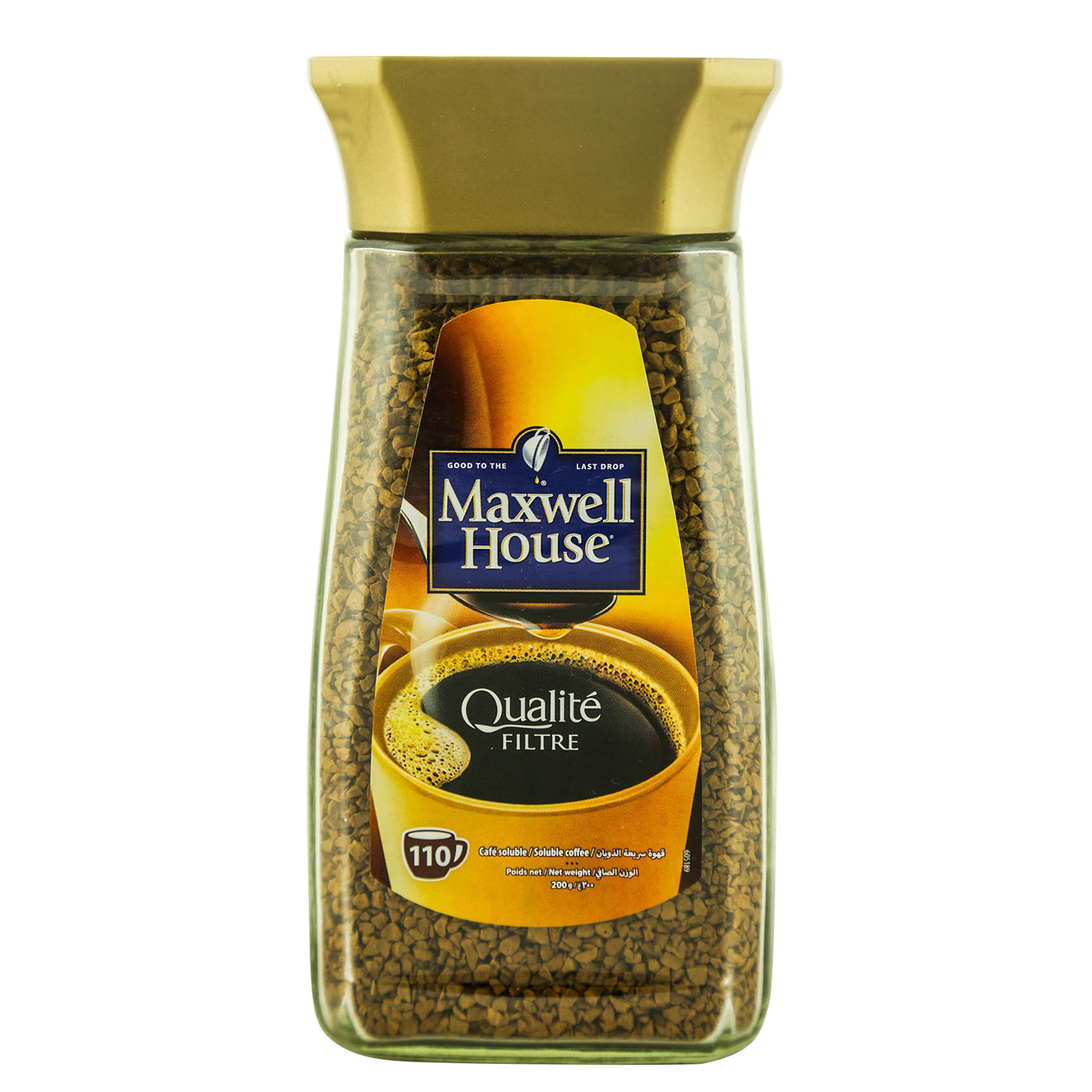 MAXWELL COFFEE GOLD SELECTION 200GR
