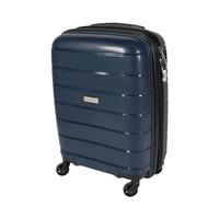 ترافل هاوس حقيبة سفر خامة صلبة من البولي بروبلين مقاس 20 إنش لون أزرق