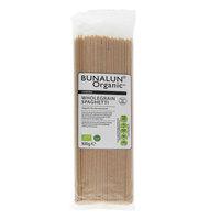 Bunalun Organic Wholegrain Spaghetti 500g