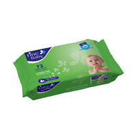 Fine Baby Wet Wipes Aloe Vera 72 Sheets