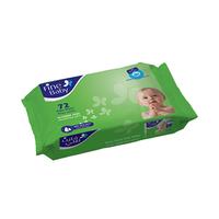 Fine Baby Wet Wipes Aloe Vera 72 Sheets