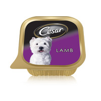 Cesar® Lamb Wet Dog Food Can Foil Tray 100g