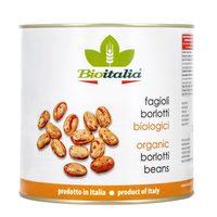 Bioitalia Organic Boiled Borlotti Beans 400g