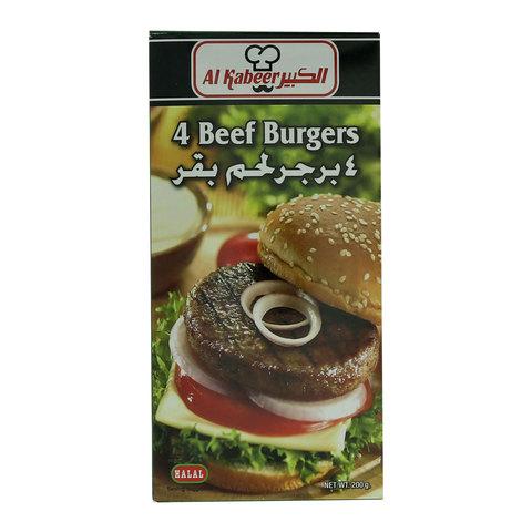 Al-Kabeer-4-Beef-Burgers-200g